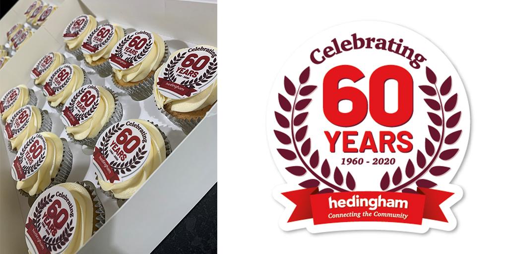 Image of Hedingham 60th anniversary