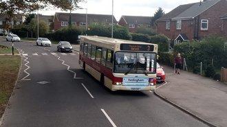 Photo of a Hedingham single decker bus